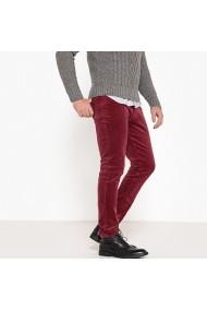 Pantaloni La Redoute Collections GFI381 bordo