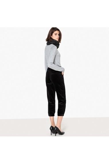 Pantaloni drepti La Redoute Collections GFI654 negru