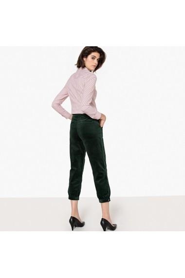 Pantaloni drepti La Redoute Collections GFI654 verde