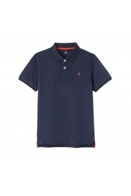 Tricou polo La Redoute Collections GFJ349 bleumarin