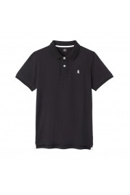 Tricou polo La Redoute Collections GFJ349 negru