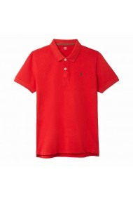 Tricou polo La Redoute Collections GFJ349 rosu