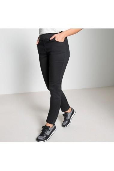 Pantaloni drepti ANNE WEYBURN GFJ828 negru
