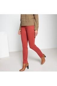 Pantaloni drepti ANNE WEYBURN GFJ828 maro