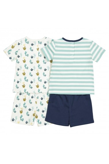 Set 2 pijamale La Redoute Collections GFK155 bleumarin