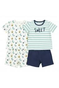 Set 2 pijamale La Redoute Collections GFK155 bleumarin