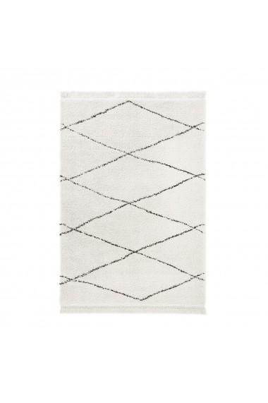 Covor decorativ Fatouh La Redoute Interieurs GFK162 200x290 cm ecru