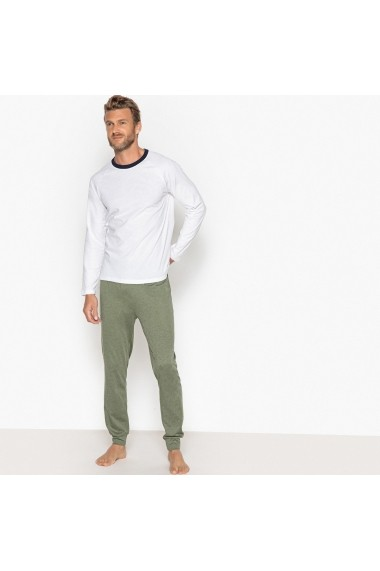 Pijama La Redoute Collections GFK447 alb