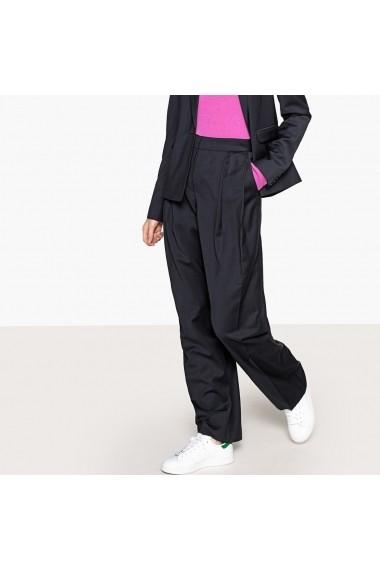 Pantaloni largi La Redoute Collections GFK617 bleumarin