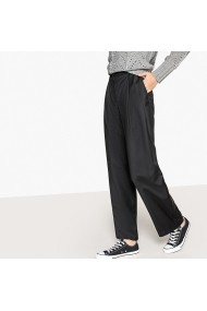 Pantaloni largi La Redoute Collections GFK617 negru - els