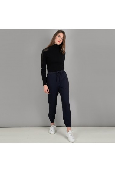 Pantaloni largi MOLLY BRACKEN GFK660 negru
