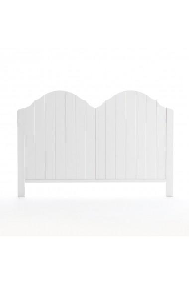 Tablie de pat Grismby La Redoute Interieurs GFK751 90 cm alb