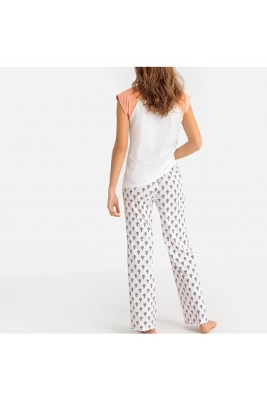 Pijama La Redoute Collections GFK833 alb