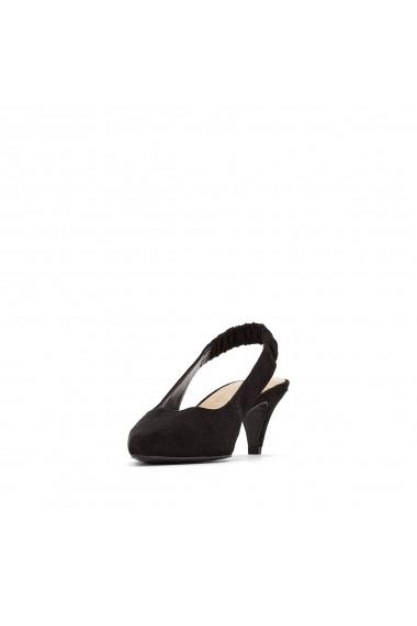 Pantofi cu toc La Redoute Collections GFK861 negru