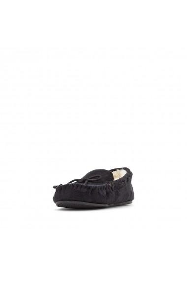 Papuci de casa de casa La Redoute Collections GFK923 negru