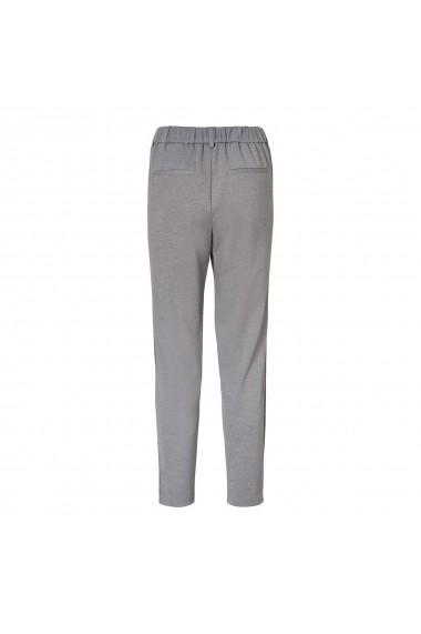 Pantaloni drepti VERO MODA GFL102 gri