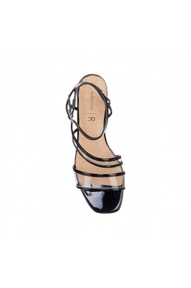 Sandale La Redoute Collections GFL399 negru