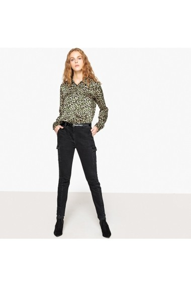 Jeansi skinny La Redoute Collections GFL516 negru