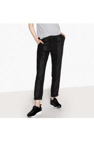 Pantaloni drepti La Redoute Collections GFL929 negru