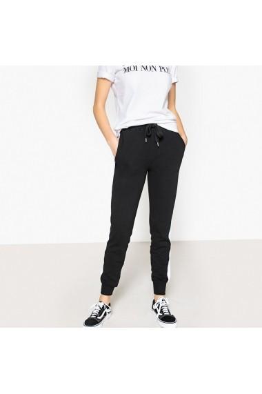 Pantaloni drepti La Redoute Collections GFM113 negru