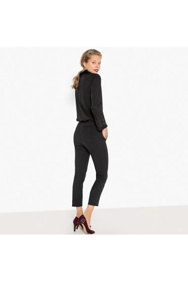 Pantaloni drepti La Redoute Collections GFM143 negru