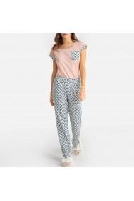 Pijama La Redoute Collections GFM478 alb