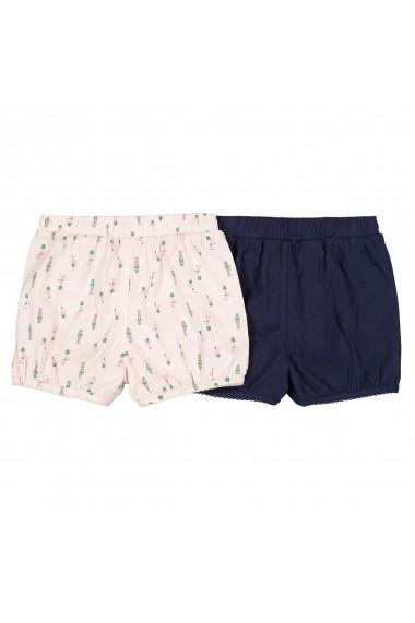 Set 2 pantaloni scurti La Redoute Collections GFN004 bleumarin