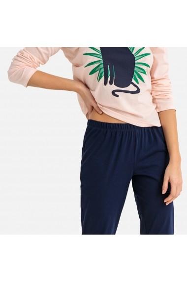 Pijama La Redoute Collections GFN497 albastru