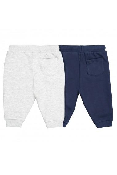 Set 2 pantaloni sport La Redoute Collections GFN533 bleumarin