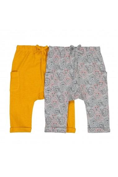 Set 2 pantaloni sport La Redoute Collections GFN536 gri