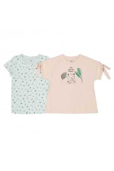 Set de 2 bluze La Redoute Collections GFN724 roz