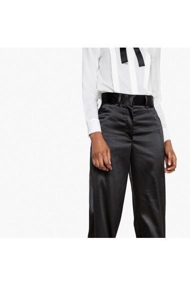 Pantaloni drepti La Redoute Collections GFO034 negru