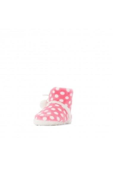 Papuci de casa La Redoute Collections GFO065 roz