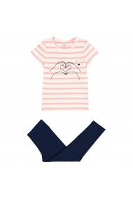 Set 2 pijamale La Redoute Collections GFO071 roz