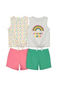 Set 2 pijamale La Redoute Collections GFO074 verde