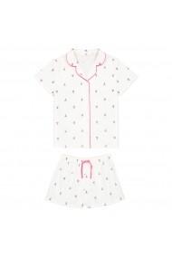Set 2 pijamale La Redoute Collections GFO077 ecru