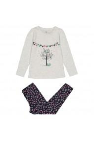 Set 2 pijamale La Redoute Collections GFO083 gri