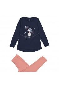 Set 2 pijamale La Redoute Collections GFO084 albastru