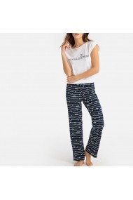 Pijama La Redoute Collections GFO574 bleumarin