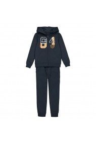 Costum sport La Redoute Collections GFO688 bleumarin