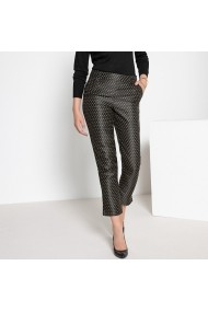 Pantaloni drepti ANNE WEYBURN GFO775 Print