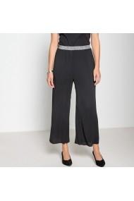 Pantaloni largi ANNE WEYBURN GFO797 negru - els