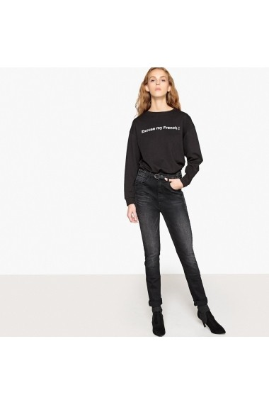 Jeansi skinny La Redoute Collections GFP504 negru
