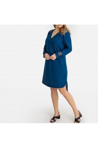 Rochie de seara CASTALUNA GFP858 albastru