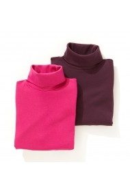 Bluza La Redoute Collections GFP880 fucsia