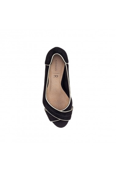 Pantofi cu toc La Redoute Collections GFQ143 negru