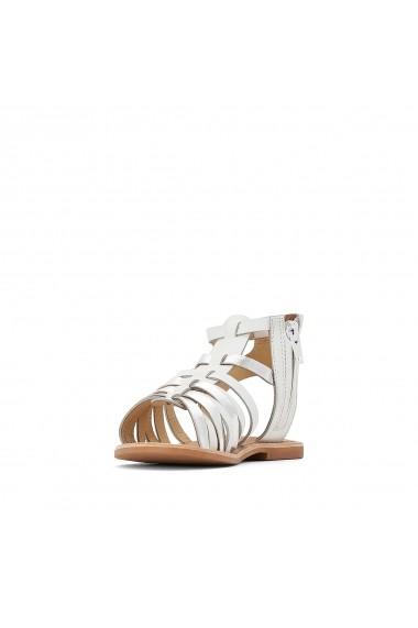 Sandale La Redoute Collections GFQ270 alb