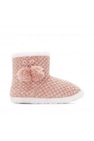 Papuci de casa de casa La Redoute Collections GFQ591 roz
