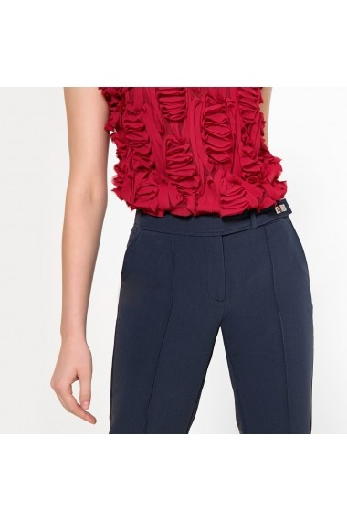 Pantaloni drepti ANNE WEYBURN GFQ679 bleumarin