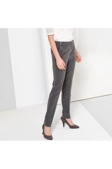 Pantaloni drepti ANNE WEYBURN GFQ681 gri